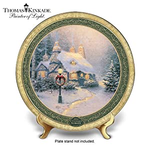 Thomas Kinkade 2011 Annual Christmas Plate