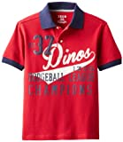 Izod Big Boys Dodgeball League Fashion Polo Shirt