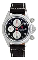 Swiss Army Chrono Pro Leather Strap Mens Watch 241187