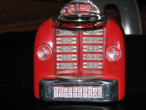 Coca-Cola Collectible Musical Bank - 1
