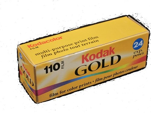 Kodak 400 Gold 110 Format Film 24 Exposure Outdated
