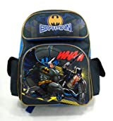 Batman Backpack  - Dark Knight 16in Large Backpack - Batman Vs. THE Penguin Backpack