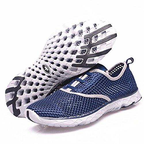 1fc6b6392486 Aleader Men s Quick Drying Aqua Water Shoes