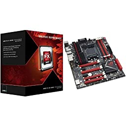 AMD FX-8350 Processor and ASUS Crosshair V Formula-Z Motherboard Bundle