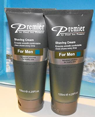 Best Cheap Deal for 2xpremier By the Dead Sea Shaving Cream for men by Premier Dead Sea - Free 2 Day Shipping Available