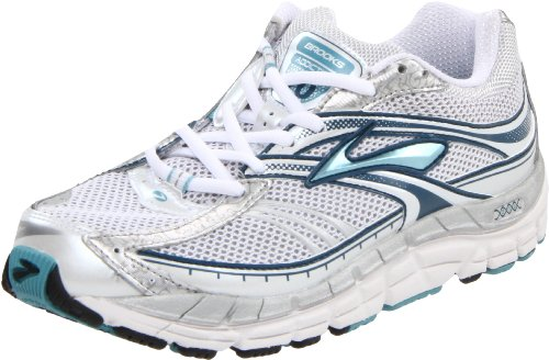 Brooks Women's Addiction10 W Silver/White Trainer 1200941B464 7.5 UK, 9.5 US