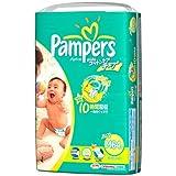パンパース さらさら コットンケア テープ M 64枚×4(256枚)