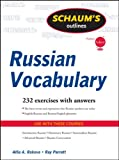 img - for Schaum's Outline of Russian Vocabulary (Schaum's Outlines) book / textbook / text book