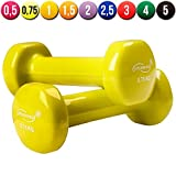 Physionics� HSTA25 Vinyl Dumbbells COLOUR CHOICE AND CHOICE OF WEIGHT (Light Green)by Physionics�