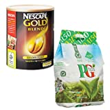 Nescafe Gold Blend 750g Coffee + PG Tips 1150 Tea Bags MULTI-PACK SPECIAL