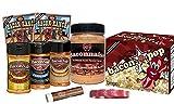 Ultimate Bacon Sampler Gift Pack (8pc Set), Baconnaise, (3) Bacon Salt, Ranch Dressing & Dip Mix, BaconPop Popcorn & Lip Balm + Silicone Wristband