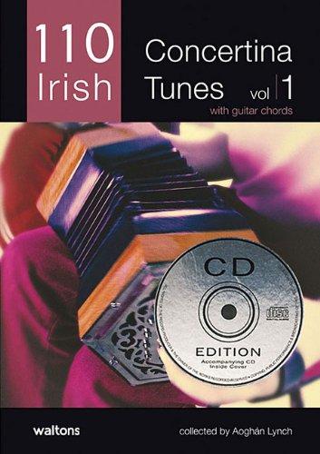 110 Irish Concertina Tunes, Volume 1