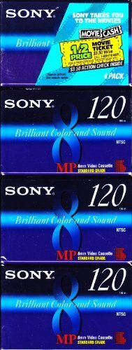 Best Price Sony 8mm MP video cassette - 120 min. (4 pack)
