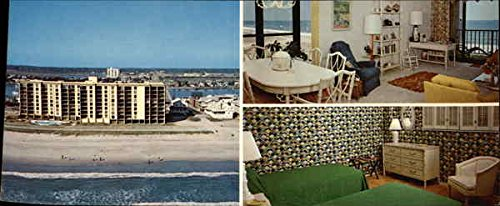 Station One Oceanfront Condominiums Wrightsville Beach, Nc Original Vintage Postcard