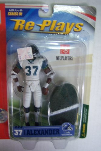 Gracelyn Re Plays#37 Shaun Alexander Seattle Seahawks Series 4 Sports Figure at Amazon.com