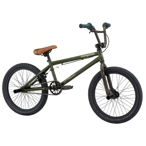 Amazon.com : Mongoose Brawler Boy's BMX/Jump Bike (20-Inch