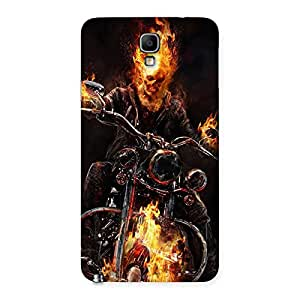 Cute Ghost Multicolor Rider Back Case Cover for Galaxy Note 3 Neo