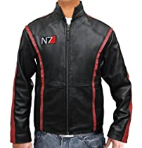 N7 Leather Jacket - Mass Effect 3 Clothing - Brand New (2XL)