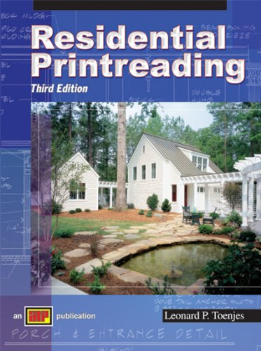 Residential Print Reading - Soft-cover - 3rd Edition - Amer Technical Pub - AT-0466 - ISBN: 0826904661 - ISBN-13: 9780826904669