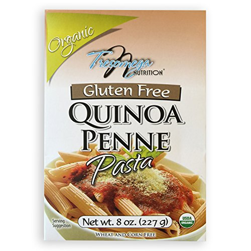 Tresomega Organic Gluten Free Quinoa Penne Pasta, 8 Ounce (Agricultural Corn Meal compare prices)