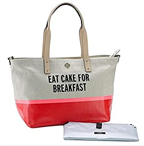 Kate Spade A Word to the Wise Francis Baby Bag, Eat Cake For Breakfast by Kate Spade New York