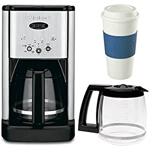 Cuisinart Coffee Maker Carafe Replacement Dcc 1200 : Amazon.com: Cuisinart DCC-1200 Brew Central 12 Cup Programmable Coffeemaker Bonus Carafe & 16 Oz ...