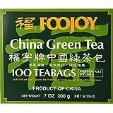 1 X Foojoy China Green Tea, 2g X 100 Teabags by A2AWorld Green Tea