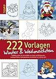 Window-Color-Vorlage: 222 Vorlagen Winter und Weihnachten: Vielfältig nutzbar für Fensterbilder aus Papier und Windowcolors, Laubsägearbeiten, Kartengestaltung, Acrylmalerei und etliches mehr