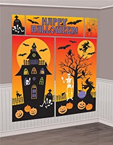 Amscan International Scene Setter Room Decoratingorating Kit Halloween from Amscan International ltd