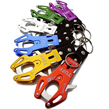 6pc Escalade crochet de verrouillage Porte-clés mousqueton B16
