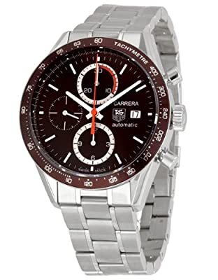 TAG Heuer Men's CV2013BA0794 Carrera Brown Dial Watch