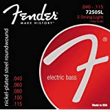 Fender 72505L Nickel/Steel Roundwound Bass Strings