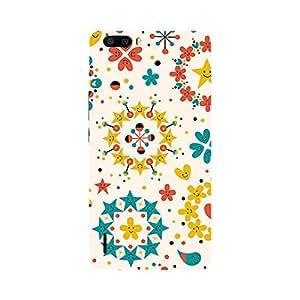 Garmor Designer Plastic Back Cover For Huawei Honor 6 Plus