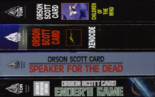 Cover of The Ender Quartet Box Set: Ender's Game, Speaker for the Dead, Xenocide, Children of the Mind
