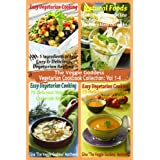 The Veggie Goddess Vegetarian Cookbook Collection: Volumes 1-4 ~ Gina 'The Veggie...