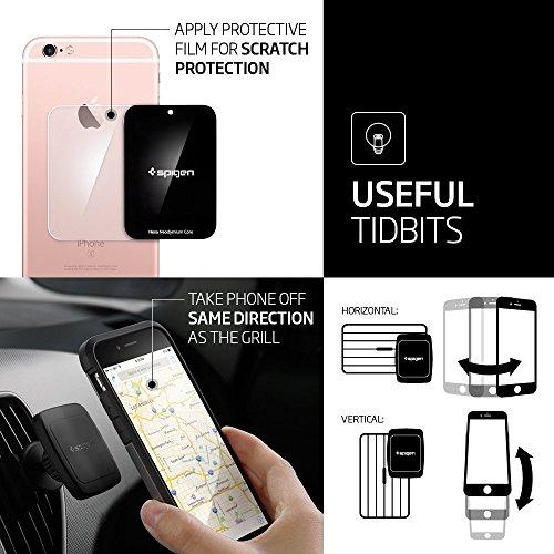 Spigen a201 car mount premium magnetic air vent phone holder 5