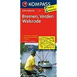 Bremen - Verden - Walsrode: Fahrradkarte. GPS-genau. 1:70000 (KOMPASS-Fahrradkarten Deutschland)