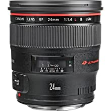 Canon EF 24mm f/1.4 L USM II Wide Angle Lens