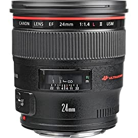 Canon EF 24mm f/1.4L II USM Lens