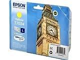 Epson WorkForce Pro WP-4535 DWF (T7034 / C 13 T 70344010) - original - Inkcartridge yellow - 800 Pages - 10ml
