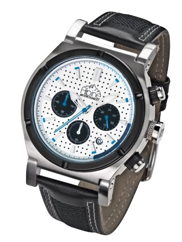 Alpine Mountaineer Liskamm Shiny Glacier Chronograph for Him Design Highlight