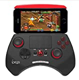 TTTK newest Ipega 9028 wireless bluetooth unique game controller with touchpad support android/ios/android tv/android tv box