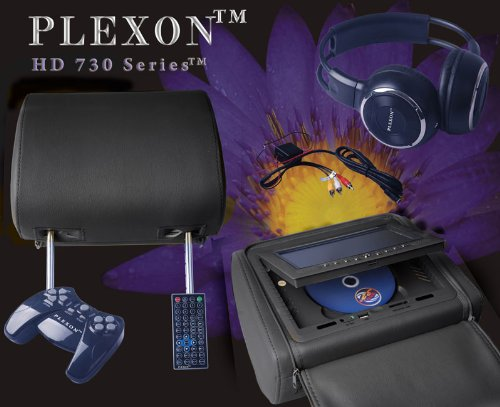 Cyber Monday Plexon™ - Headrest DVD Player with 7