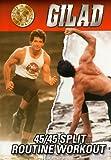 Gilad: Split Routine 1 & 2 - Fat Burning Toning [DVD] [Import]