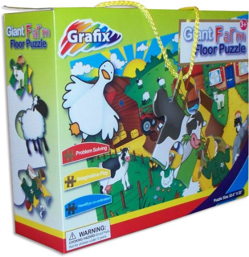 Cheap Grafix Giant Farm Floor Puzzle (B0046ZQXJW)