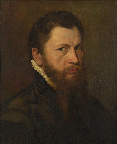 'Anthonis Mor Van Dashorst Portrait Of A Man ' Oil Painting, 20 X 25 Inch / 51 X 62 Cm ,printed On Polyster Canvas ,this High Definition Art Decorative Prints On Canvas Is Perfectly Suitalbe For Wall Art Decor And Home Gallery Art And Gifts