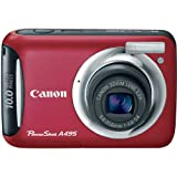 Canon PowerShot A495 10.0 MP Digital Camera with 3.3x Optical Zoom and 2.5- ....