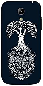 Timpax Hard Back Case Cover Printed Design : A mushroom tree.For Samsung I9190 Galaxy S4 mini