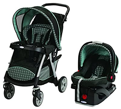 Graco Urbanlite Click Connect Travel System, Cascade by Graco that we recomend personally.