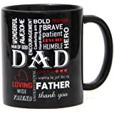 Bold Black Mug - Coffee Mug 1, Fathers Day Gifts, Fathers Day Gift Combo, Coffee Mug For Father, Coffee Mug For...